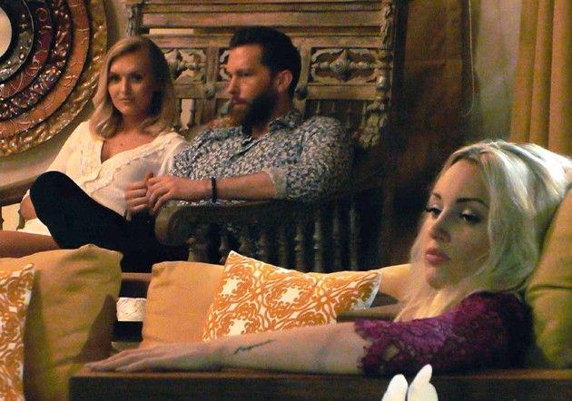 Erika, Oliver und Carolin bei Bachelor in Paradise am 9.5.2018
