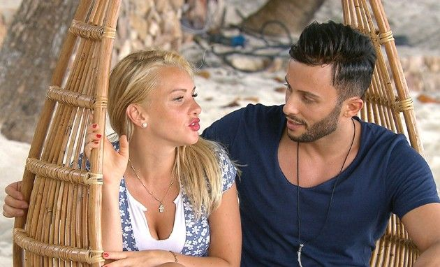 Evelyn und Domenico bei Bachleor in Paradise am 9.5.2018