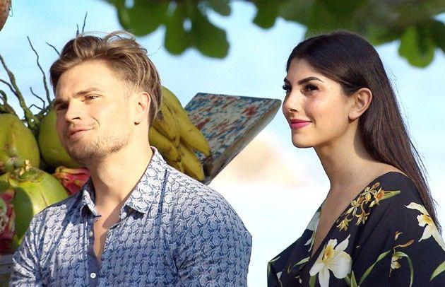 Johannes und Yeliz bei Bachleor in Paradise am 9.5.2018