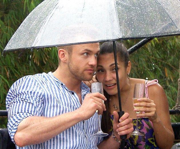 Philipp und Pamela bei Bachelor in Paradise am 9.5.2018