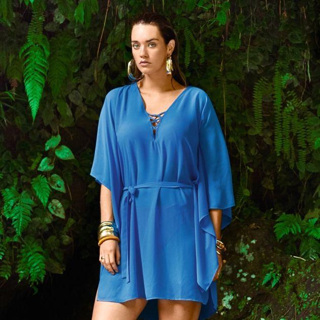 Strandkleid Prima Donna Swim Bademode 2018 Modell Freedom, Farbe Blue Jump