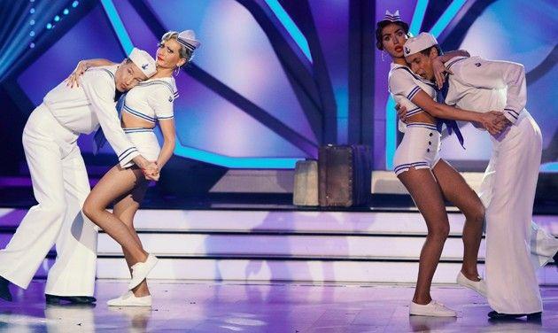 Thomas Hermanns - Regina Luca und Ingolf Lück - Ekaterina Leonova bei let's dance am 18.5.2018