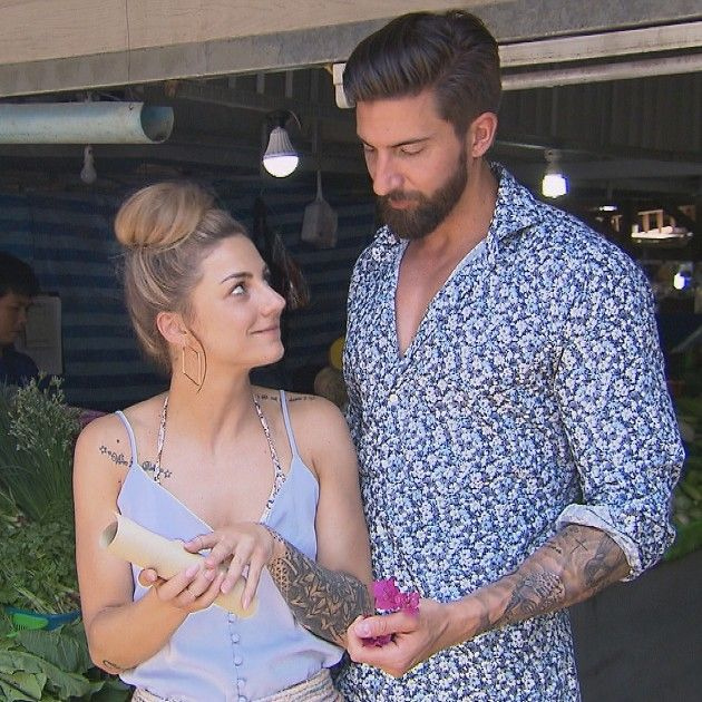 Annika und Sebastian beim Date Bachelor in Paradise am 6.6.2018
