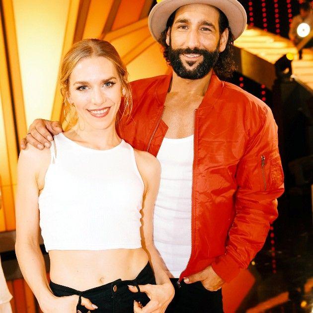 Ausgeschieden bei Let's dance am 1.6.2018 Julia Dietze - Massimo Sinato