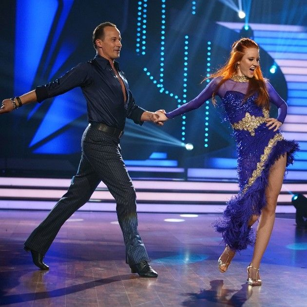 Barbara Meier - Sergiu Luca sind im Finale Let's dance 2018 am 8.6.2018