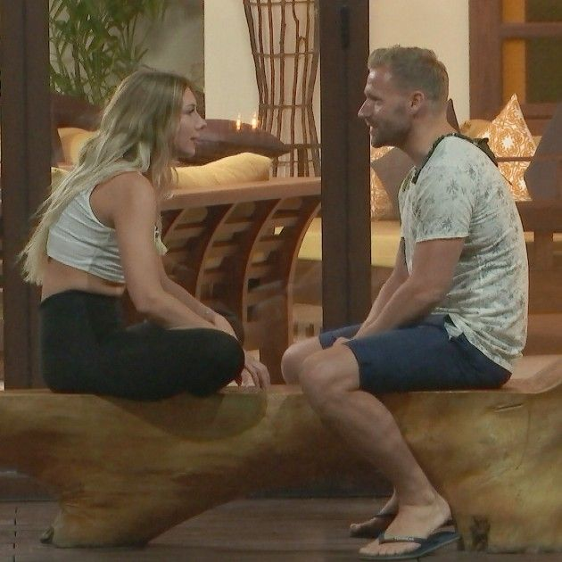 Janika und Christian bei Bachleor in Paradise am 6.6.2018