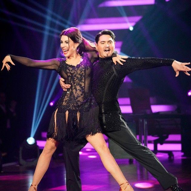 Judith Williams - Erich Klann sind im Finale Let's dance 2018 am 8.6.2018