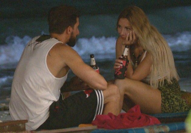 Sebastian und Janika bei Bachelor in Paradise am 6.6.2018
