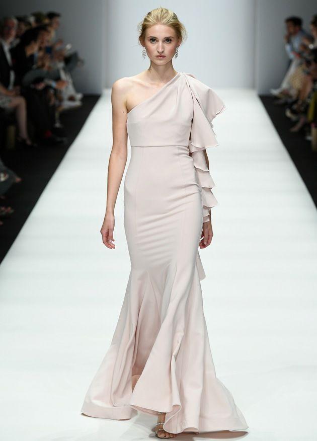 Abendmode - langes Kleid von Lana Mueller Frühjahr-Sommer-Mode 2019