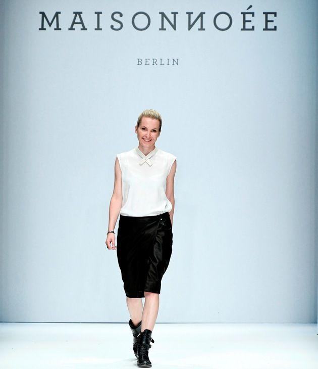 Designerin Sophie Oemus von Maisonnoee zur MBFW auf der Fashion Week Berlin