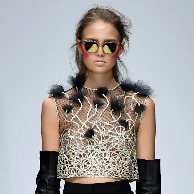 Irene Luft macht Mode aus Spitze