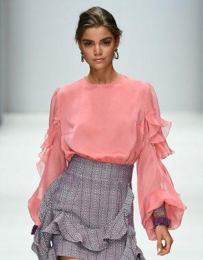 Lana Mueller Frühjahr-Sommer-Mode 2019 zur MBFW Fashion Week Berlin Juli 2018