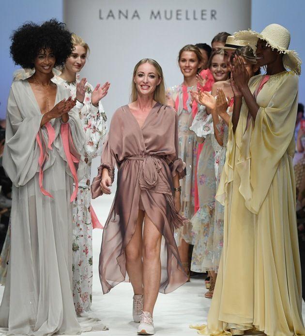 Lana Mueller - die Designerin Swetlana Müller Aslanli auf der MBFW Juli 2018