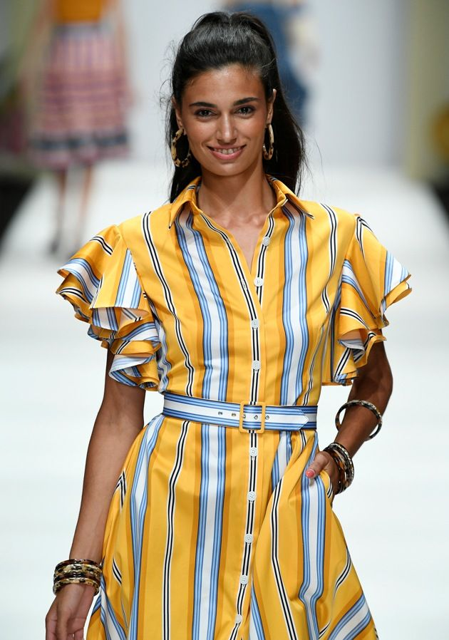 Lena Hoschek Sommerkleid Mode 2019 MBFW zur Fashion Week Berlin - 17