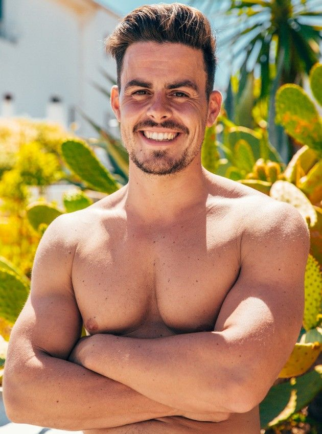 Manuel mit freiem Oberkörper - Bachelorette Kandidat 2018