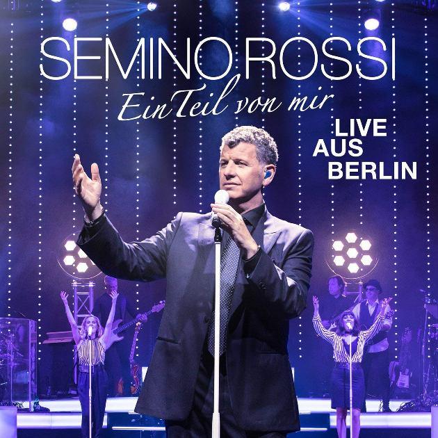 Semino Rossi veröffentlicht Live-Album Ein Teil von mir als CD und DVD