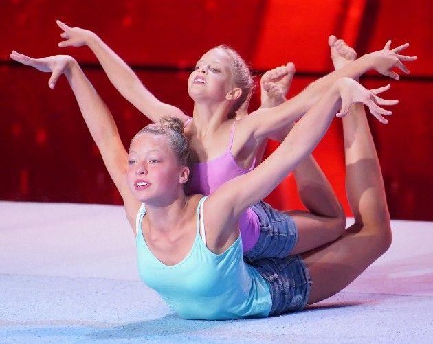Anna Grass - Xenia Chesler beim Supertalent am 15.9.2018