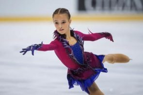 Anna Shcherbakova - Favoritin in Richmond beim ISU Junior Grand Prix Kanada 2018