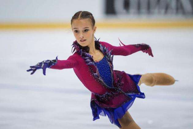 Anna Shcherbakova - Favoritin in Richmond beim ISU Junior Grand Prix Kanada 2018