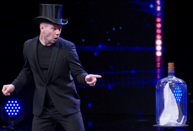 Artem Shchukin beim Supertalent 2018 am 15.9.2018