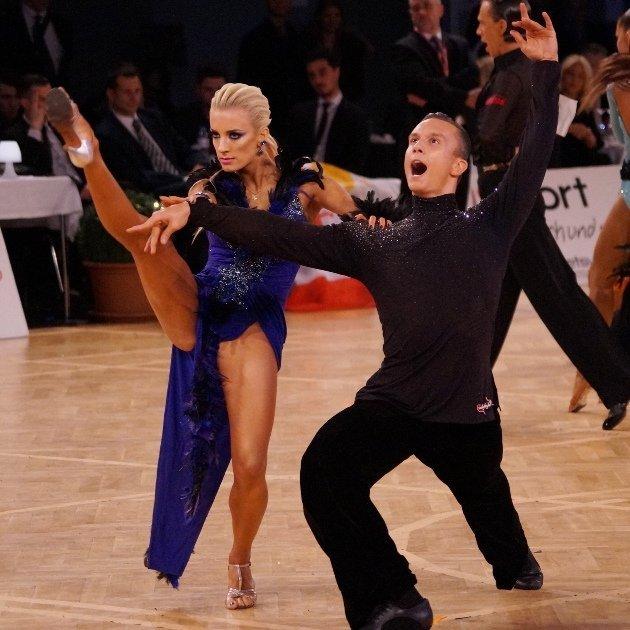 Artur Balandin - Anna Salita aus-Deutschland Platz 3 WM Show Dance Latein 2018