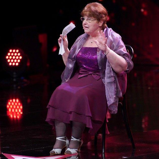 Gisela Demmelmeyer beim Supertalent 2018 am 15.9.2018