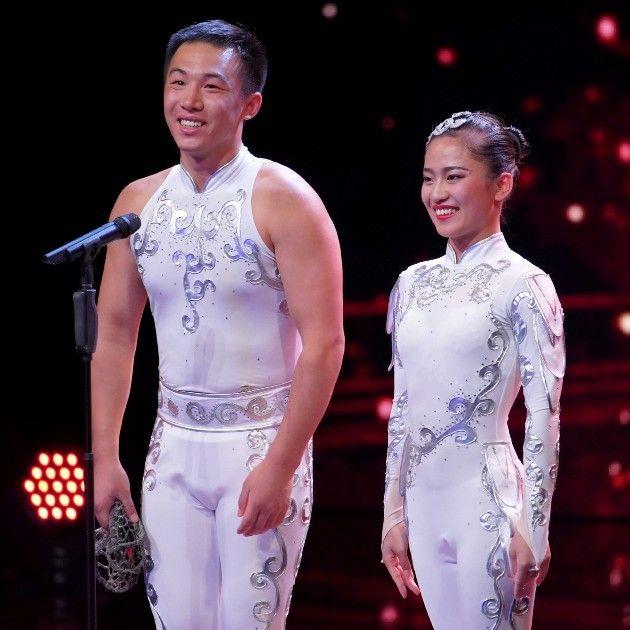 Guo und Zhang beim Supertalent am 29.9.2018