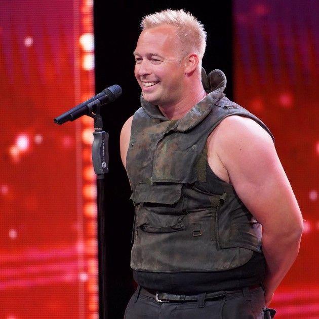 Hannes Schwarz beim Supertalent 2018 am 22.9.2018