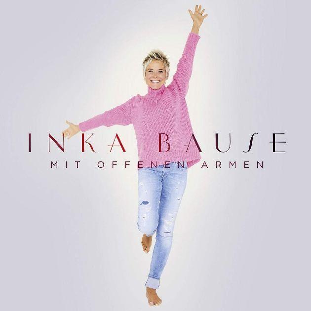 Inka Bause neue CD Mit offenen Armen