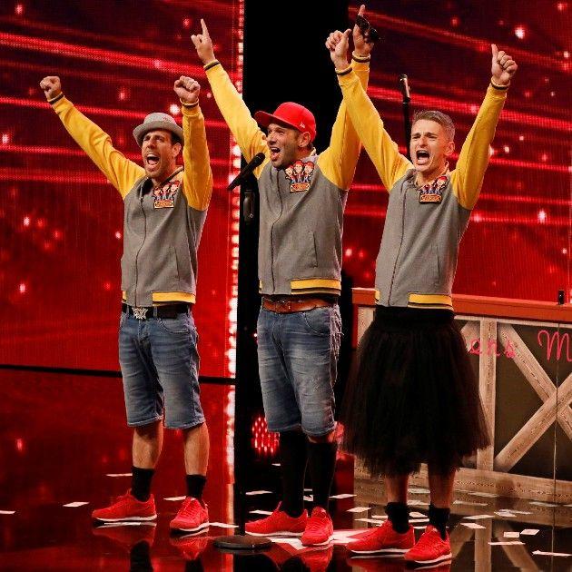 Luciano Velardi, Holger Stemmer und Rosario Ribaudo beim Supertalent am 15.9.2018