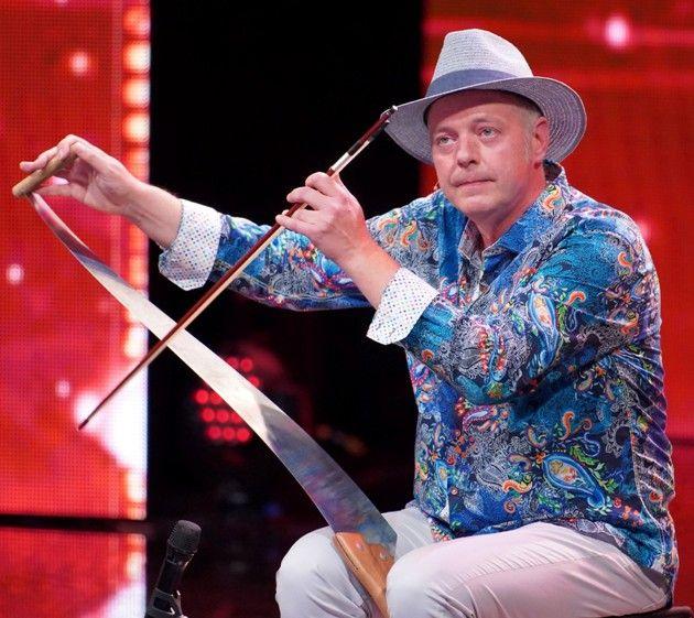 Ralph Stövesandt beim Supertalent 2018 am 29.9.2018