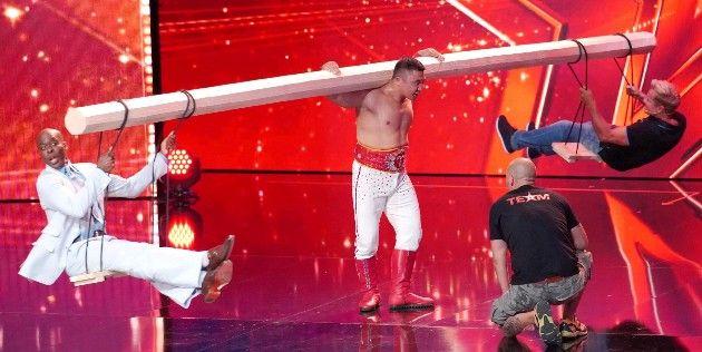 Strongman Tulga - Battulga Battogtokh beim Supertalent am 15.9.2018