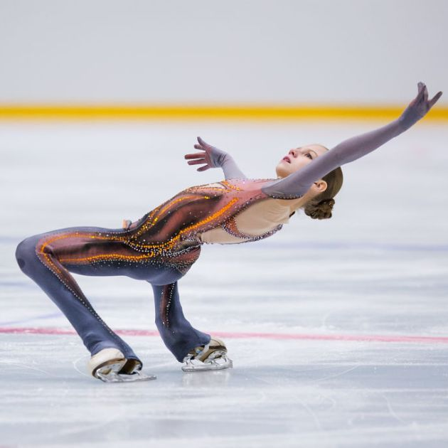 Alexandra Trusova - Beste Punktzahl beim ISU Junior Grand Prix 2018