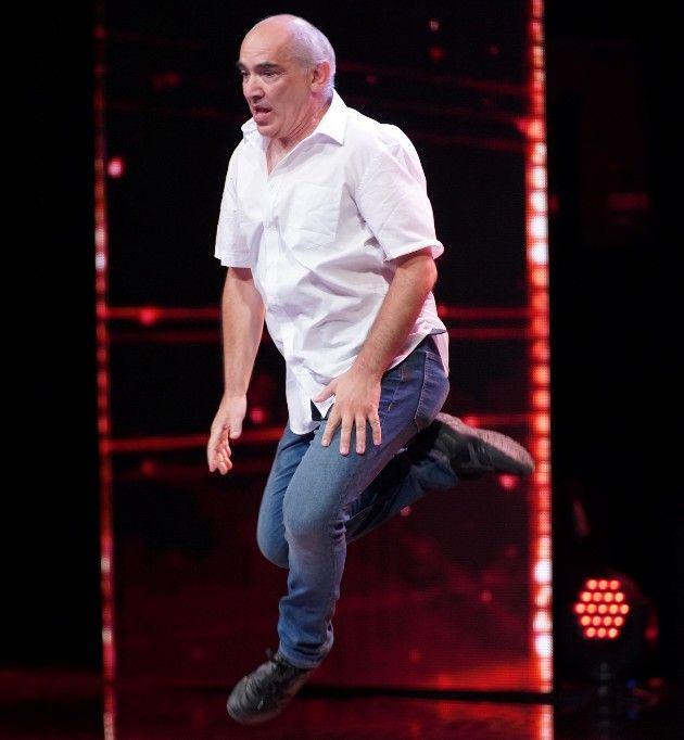 Athanasios Tzaras Kandidat beim Supertalent am 20.10.2018