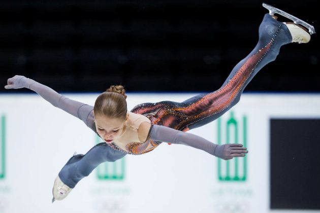 Eiskunstlauf ISU Junior Grand Prix 2018 Jerewan 11.-13.10.2018 - Alexandra Trusova Favoritin