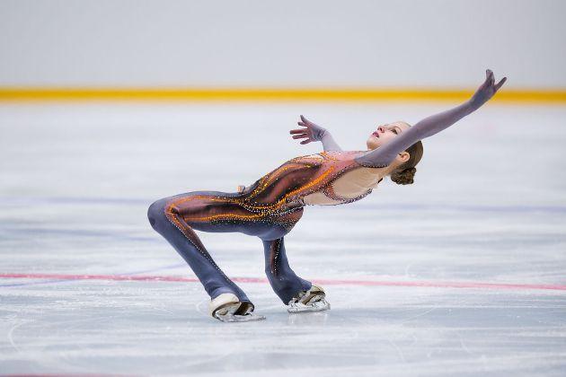 Eiskunstlauf-Saison 2018-2019 Rekorde und Bestleistungen - hier Alexandra Trusova