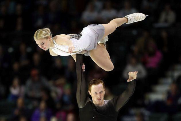 Evgenia Tarasova - Vladimir Morozov bei Skate America 2018