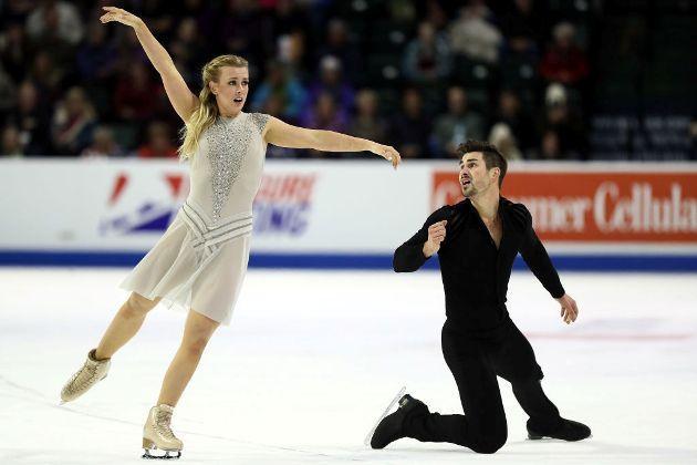 Madison Hubbell - Zachary Donohue beim ISU Grand Prix 2018