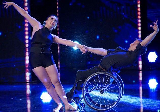Marisa Hamamoto - Piotr Iwanicki - Rollstuhl-Tanz beim Supertalent am 20.10.2018