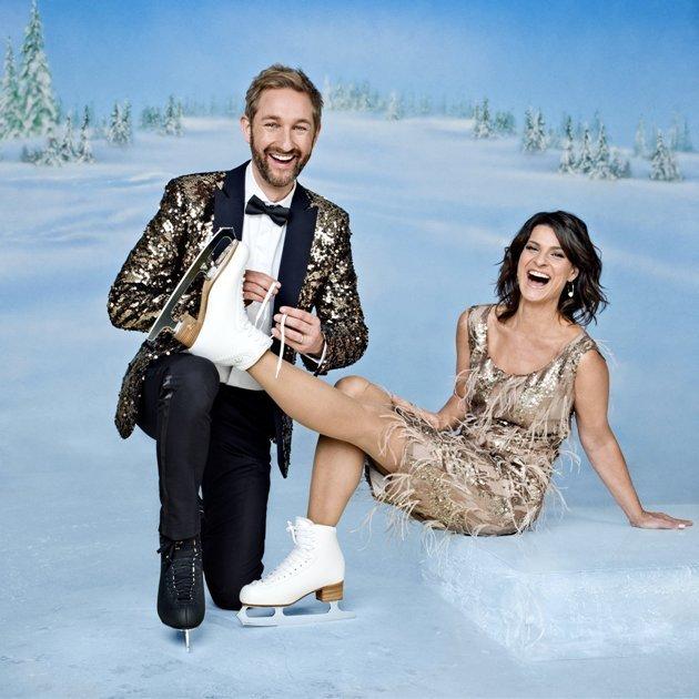 Marlene Lufen und Daniel Boschmann- Dancing on Ice Moderatoren