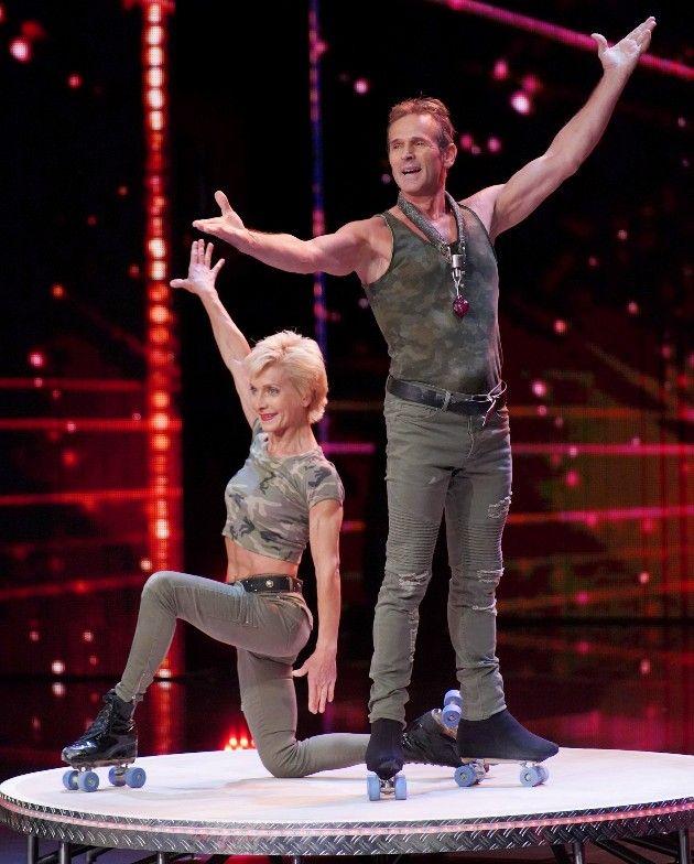 Martina Soult und Dieter Barnekow beim Supertalent am 27.10.2018
