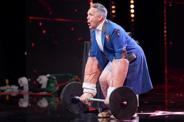 Marty Putz Kandidat beim Supertalent am 20.10.2018