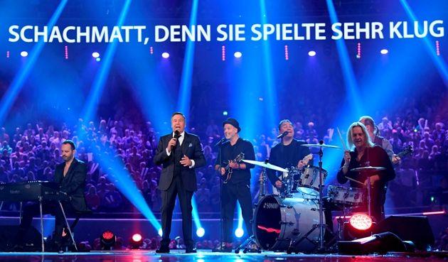 Roland Kaiser mit Band beim Schlagerbooom 2018 am 20.10.2018