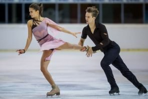 Sofia Shevchenko - Igor Eremenko aus Russland Favoriten beim ISU Grand Prix Ljubljana 2018