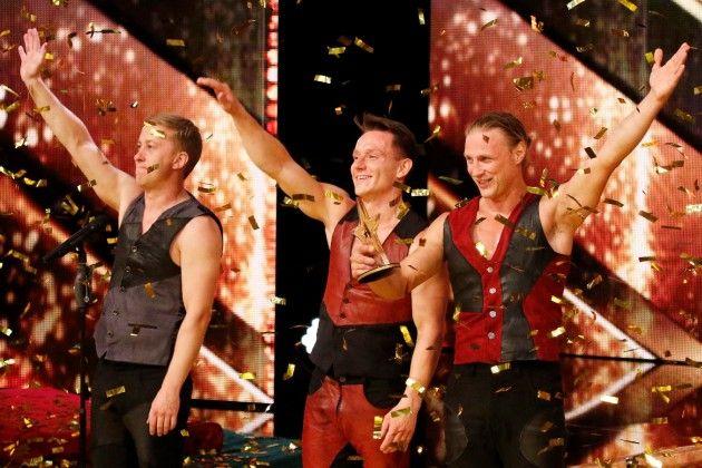 Step Out - Gold-Buzzer beim Supertalent am 20.10.2018 - Patrick Schuhmann, Viachaslau Hahunou, Paul Elias Larsson