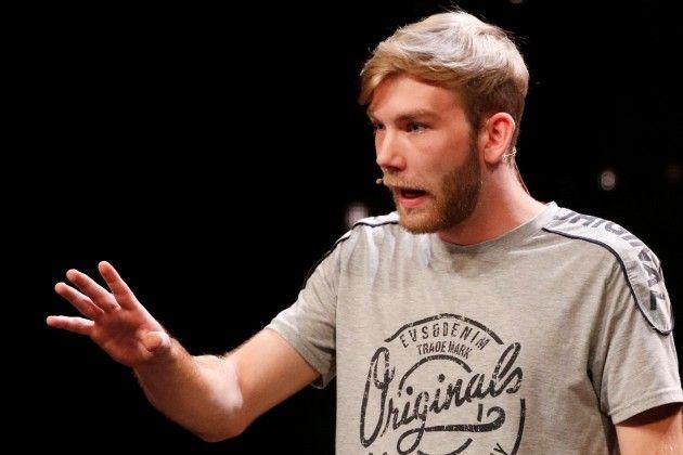Bastian Sperr beim Supertalent am 17.11.2018