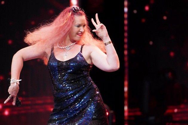 Irina Frey beim Supertalent am 10.11.2018