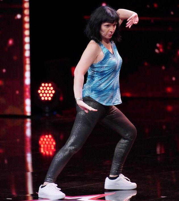 Jadranka Alavanja beim Supertalent am 3.11.2018