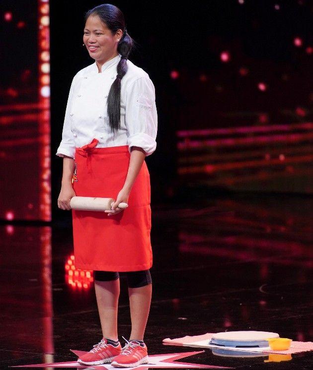 Jerralyn Elcano beim Supertalent am 17.11.2018