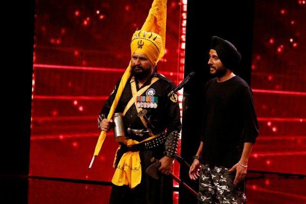 Kawaljit und Karamjit Singh beim Supertalent am 24.11.2018